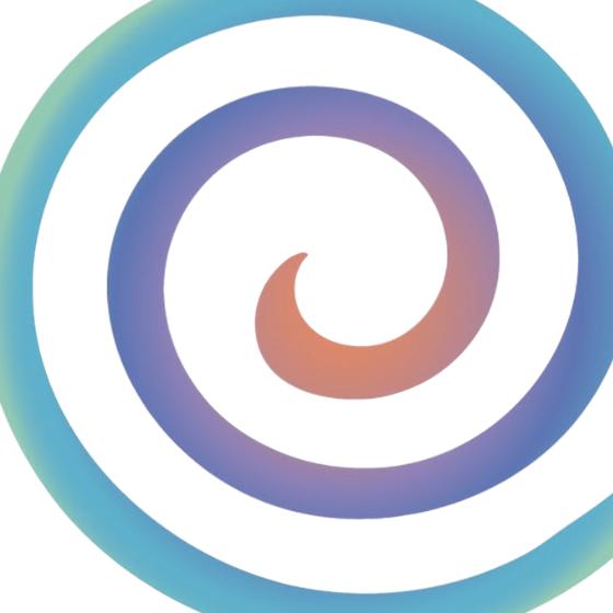 Yoga Center Retreat spiral.
